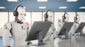 Robot Call Center